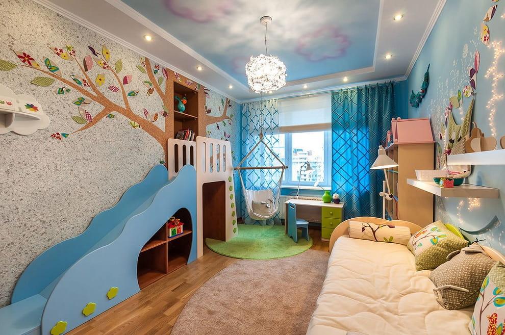 Мягкая стена добавит тепла и уюта интерьеру детской комнаты