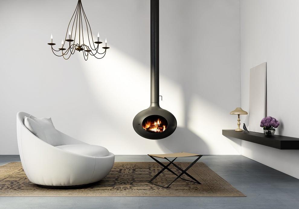 Красивое сочетание черного и белого в стиле минимализм