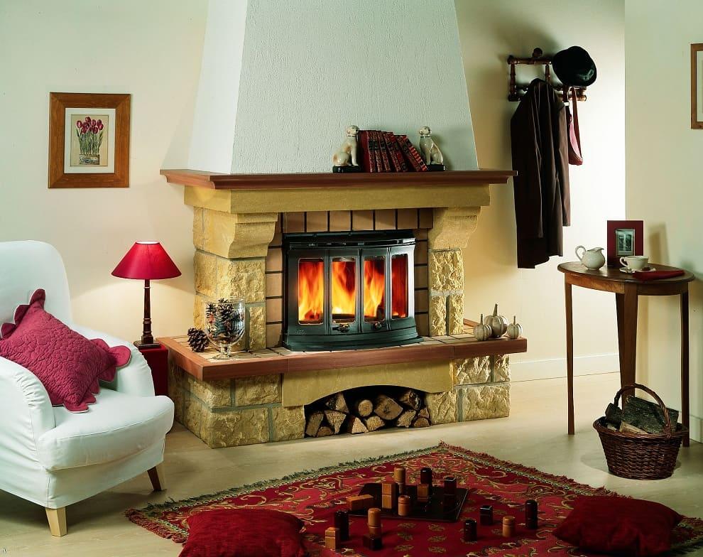 С каминов вы легко преобразите интерьер, создав в нем домашний уют