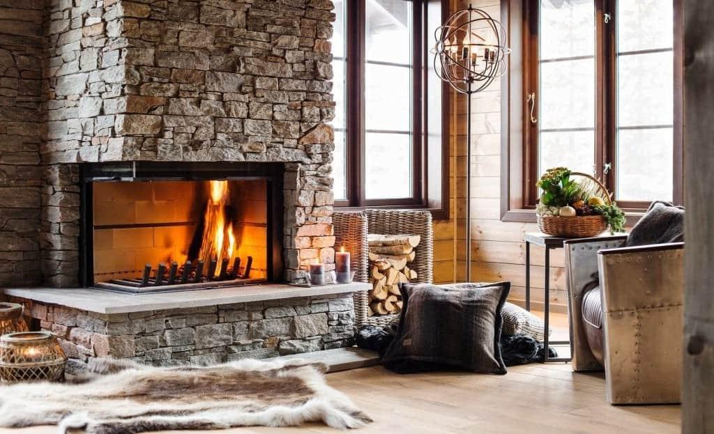 Красивые камины для дома | Лучшие модели (55 фото)
