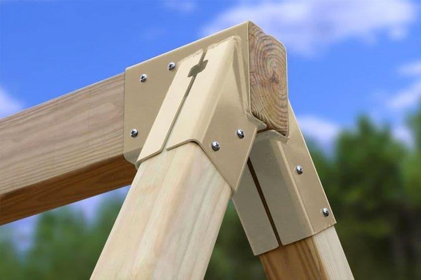 Надежное скрепление всех конструктивных узлов сооружения, существенно увеличит срок его службы