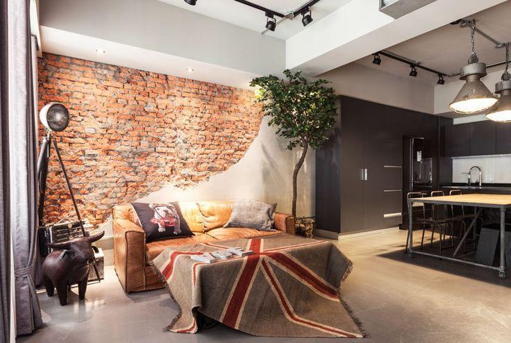 Смелое решение, но оправданное решение в выборе дизайна квартиры