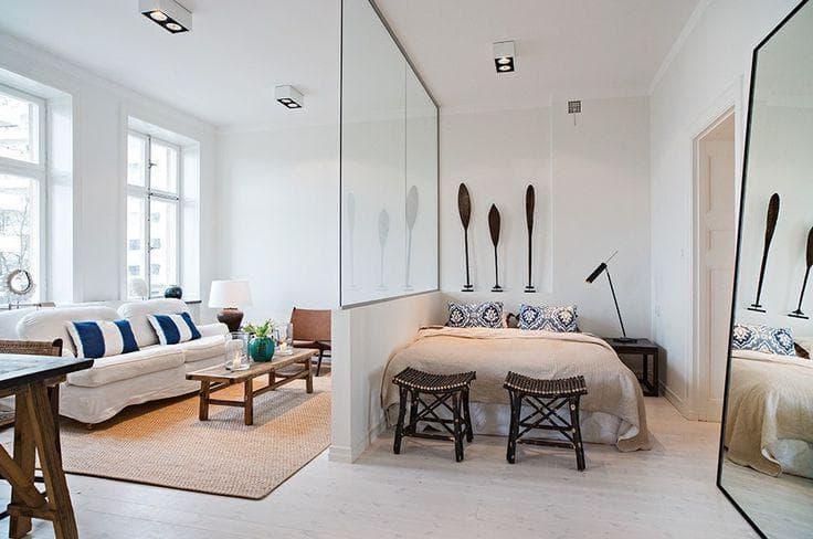 Правильно зонирование позволяет сделать квартиру уютнее