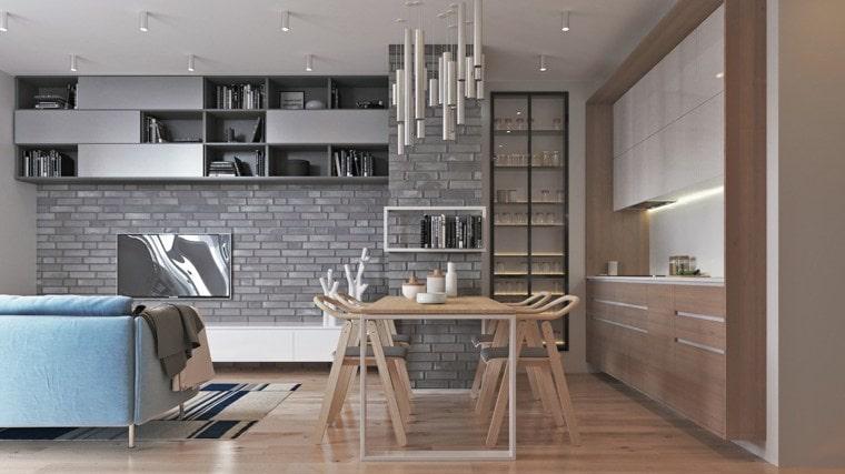Правильное освещение - одно из ключевых моментов для оформления студийной квартиры