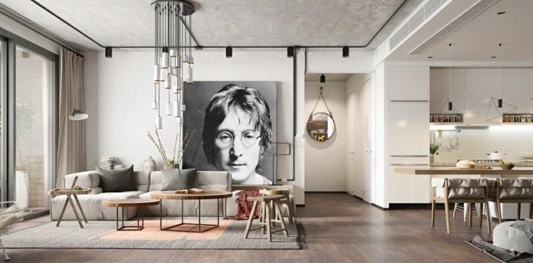 Грамотное и четкое разделение квартиры на части только увеличивает ее просторы