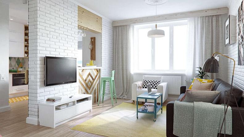 Спокойный цвет комнаты