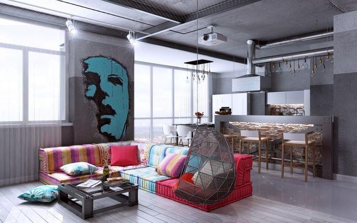 Квартира студия для творческой натуры