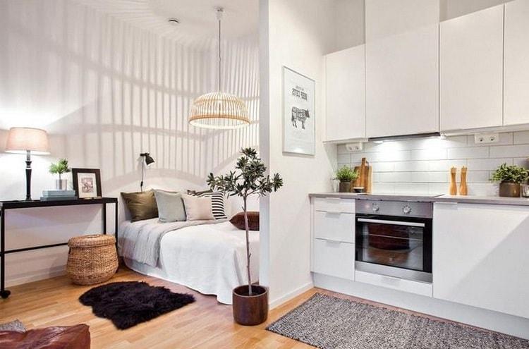 Даже на маленькой площади квартиры есть возможность создать уют и комфорт