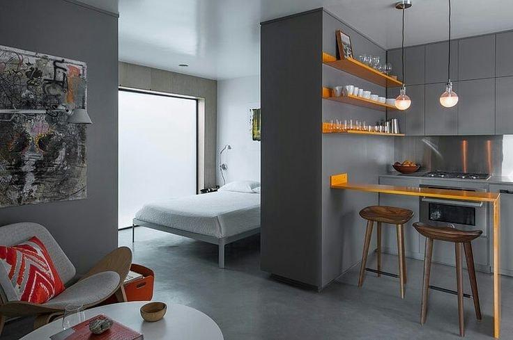 Квартира-студия планировка интерьер и фото примеры удачного обустройства