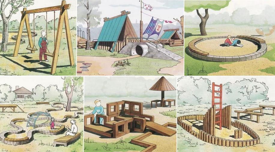 Планирование детской площадки - важный этап строительства, который должен содержать в себе совокупность мероприятий по благоустройству придомового участка