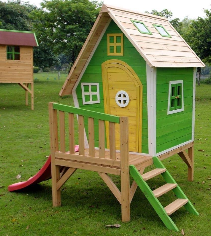 Детям до 3-х лет рекомендуется строить сооружение для игр высота которого не превышает одного метра