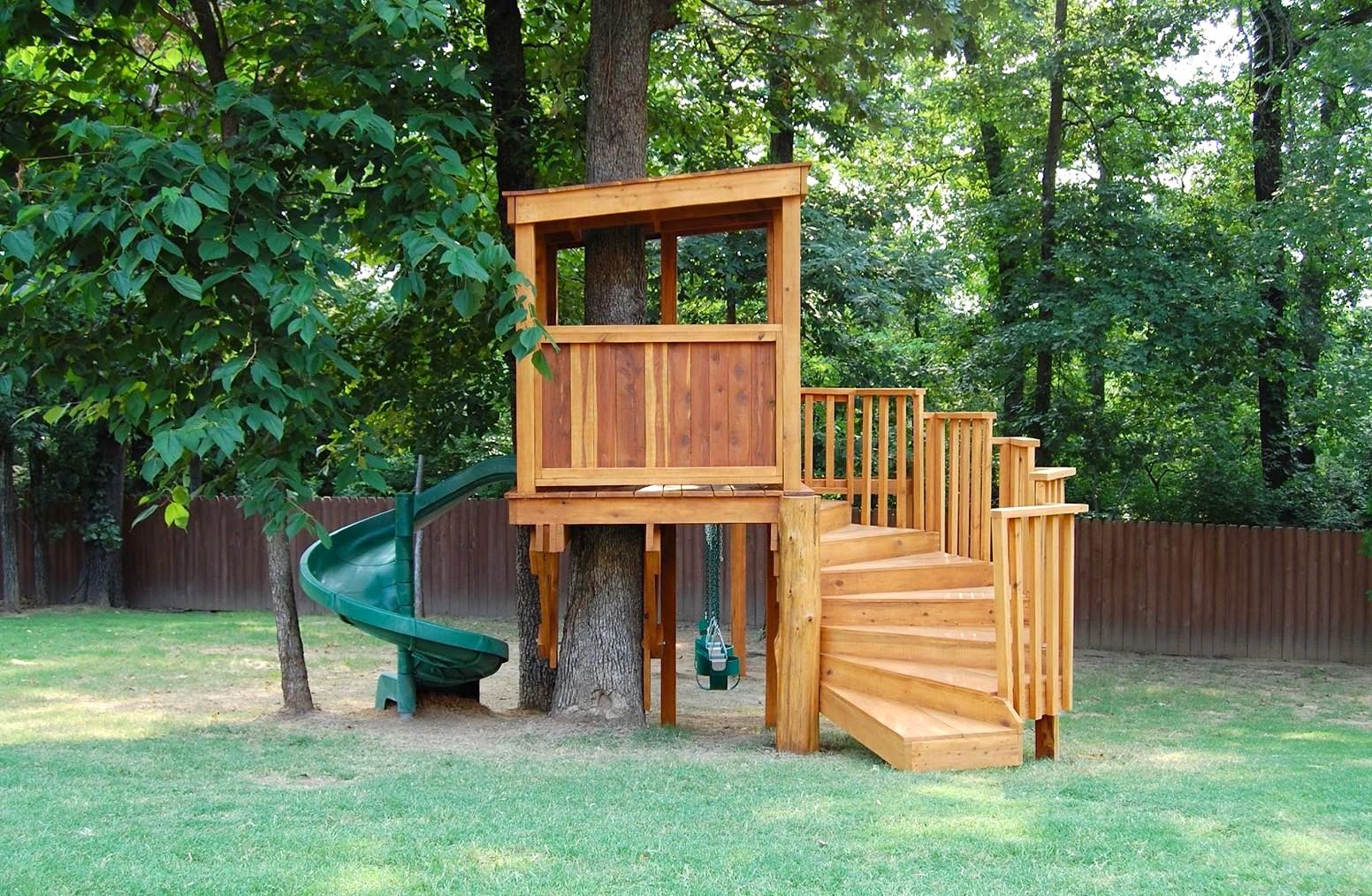 Домик на дереве - лучший способ скрасить досуг вашего ребенка