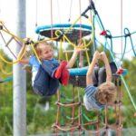 подвесная полоса препятствий для детей