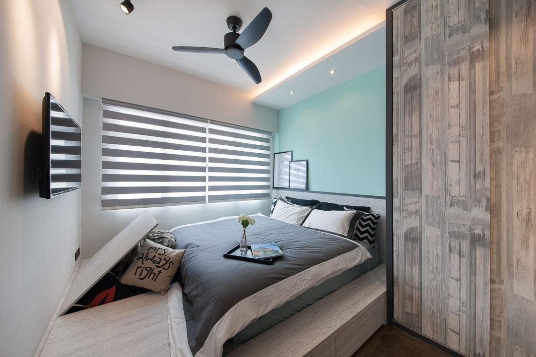 Малогабаритная спальная комната — не приговор, а повод рационально использовать квадратные метры