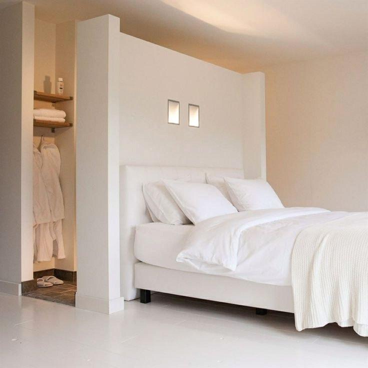 Белоснежная комната в стиле минимализм