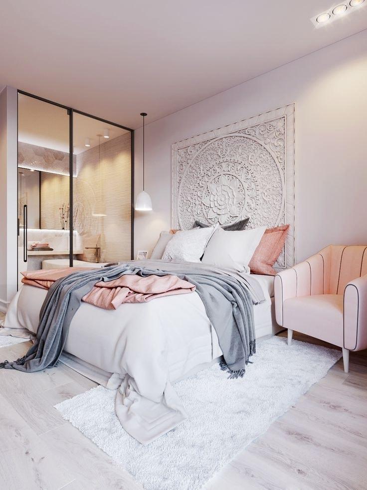 Маленькая нежная комната для сна