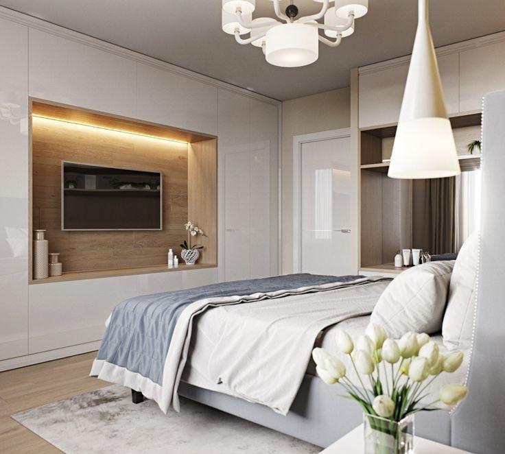 Интерьер маленькой комнаты может быть красивым