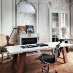 классический интерьер рабочей комнаты