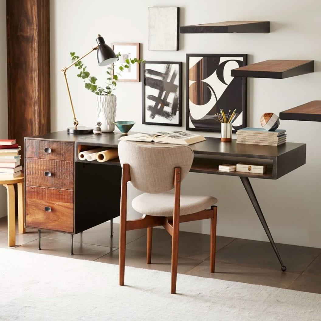 Интересный дизайн мебели в ретро стиле разбавит ваш интерьер