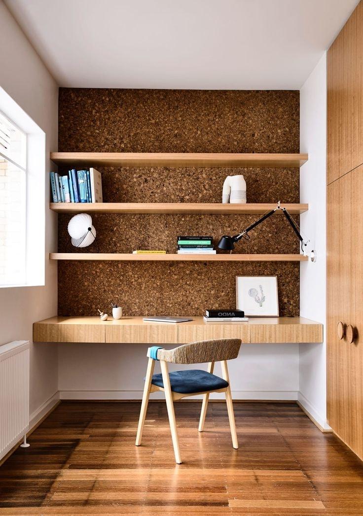 Природные оттенки для создания рабочего кабинета