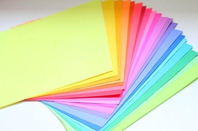 Шаг 1. Подготовка бумаги