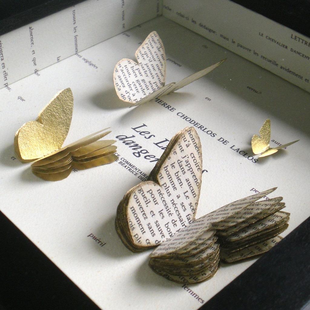Интересные варианты и оригинальные способы исполнения декора из бабочек