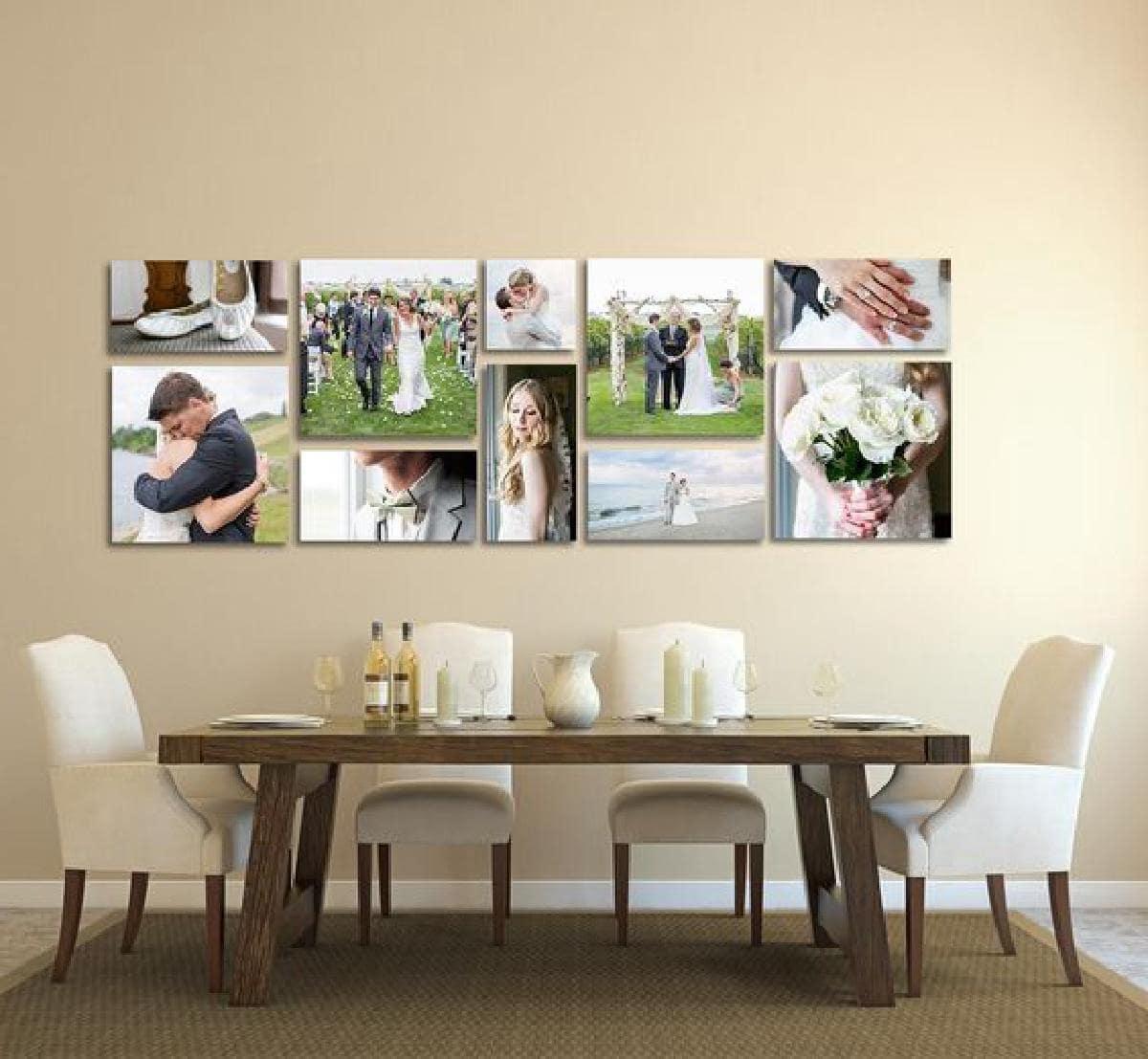 Правильно оформить и грамотно разместить фотографии в интерьере поможет ваша фантазия и чувство вкуса