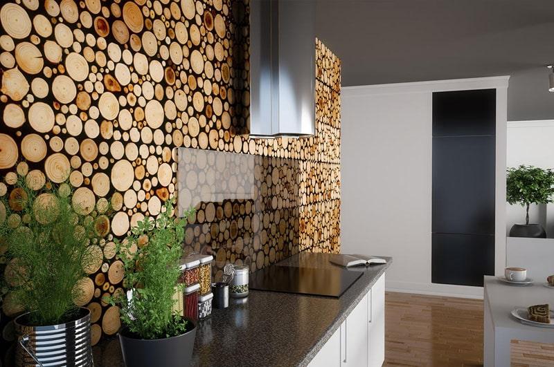 Деревянная отделка стен придает помещению достоинство и благородство