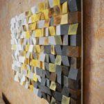 панно из деревянных обрезков