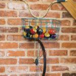 велосипед на стене декор