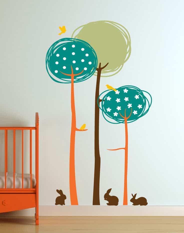 Веселая композиция для украшения детской комнаты