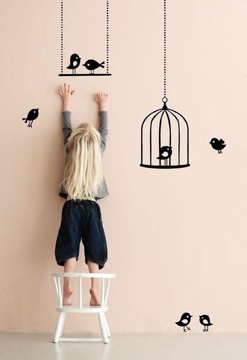 Стены в детской комнате как живое полотно- они должны быть добрыми