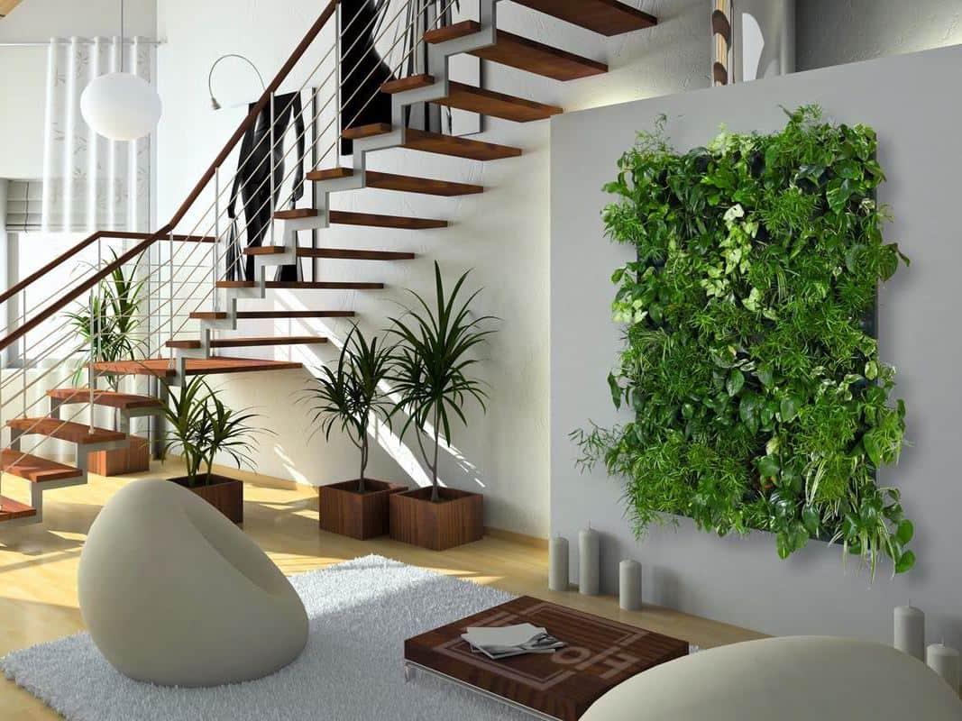 Растения – живой предмет декора, только они способны создать безмятежную атмосферу в любой комнате