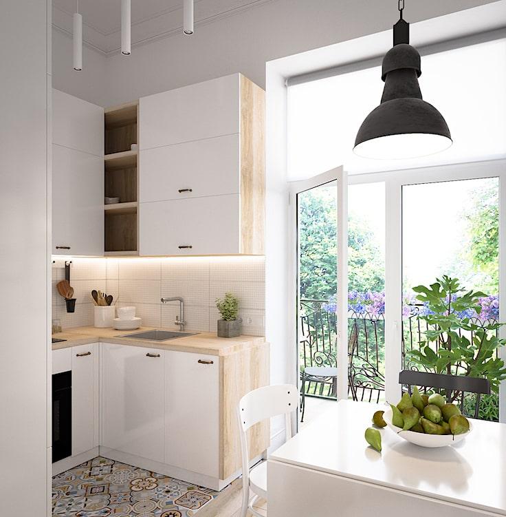 Стеклянная дверь, похожее на французское окно, наполнит помещение потоками солнечного света, делая комнату ещё более просторной