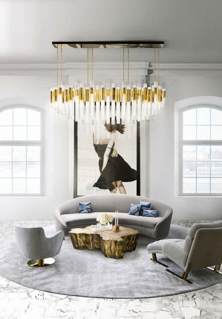 Неброская красота и элегантный дизайн интерьера