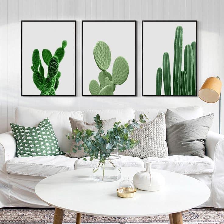 Незаменимую свежесть и жизненную силу в интерьер вдохнут зеленые оттенки и живые растения