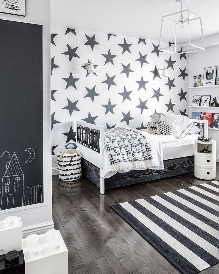 Комната подростка может быть совершенно непредсказуемых цветов, но выглядит это красиво