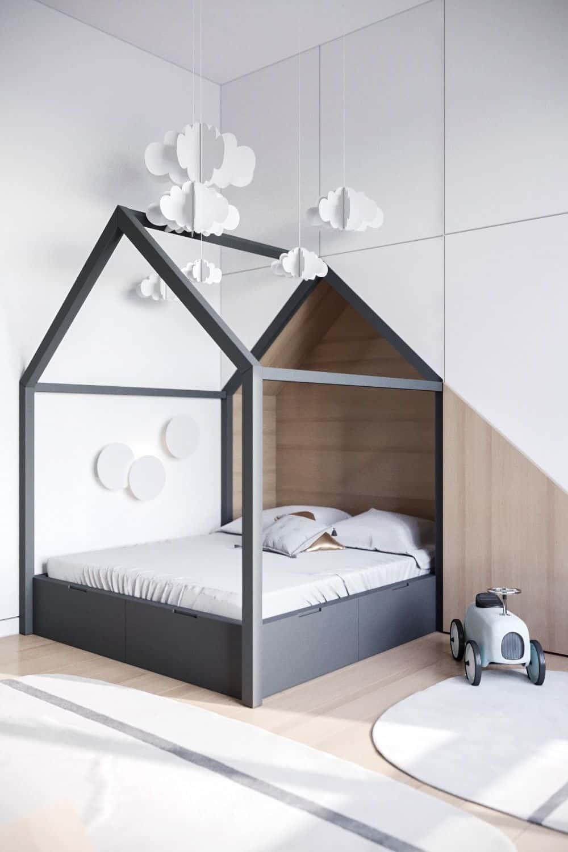 Детская комната в эко-стиле