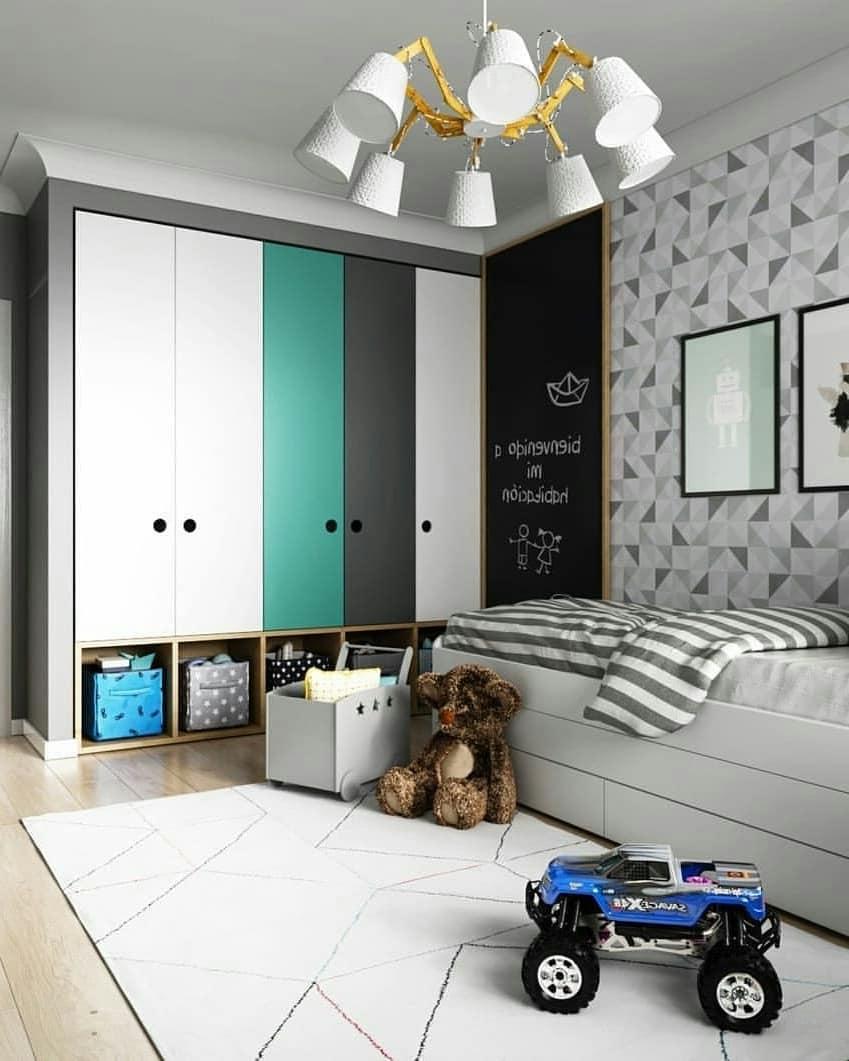 Мебель в комнате мальчика должна быть стильной и функциональной