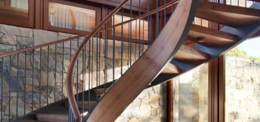 красивая лестница в доме фото