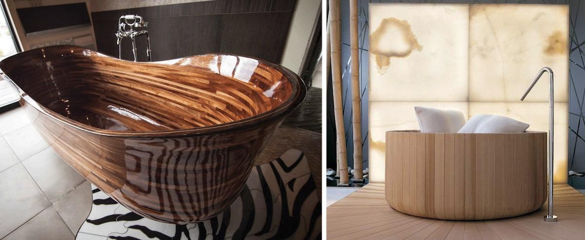 Дизайн ванной 2021 в эко стиле