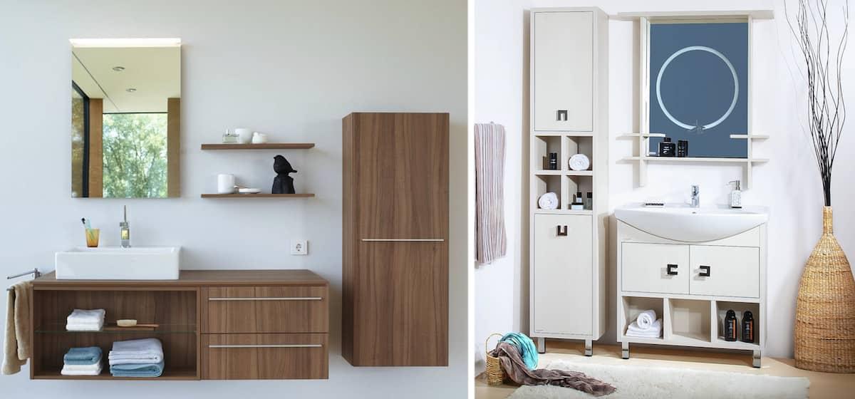 Красивый дизайн мебели из ДСП, к сожалению не практичен во влажных помещениях