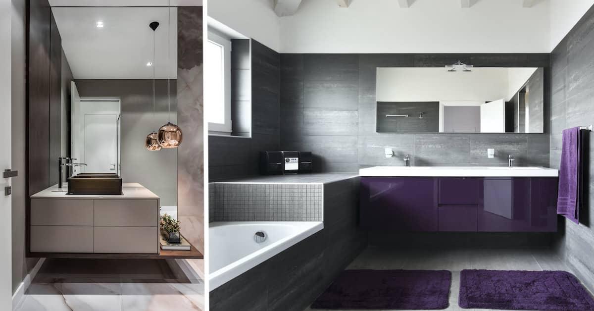 Мебель для ванной комнаты должна быть функциональной и практичной
