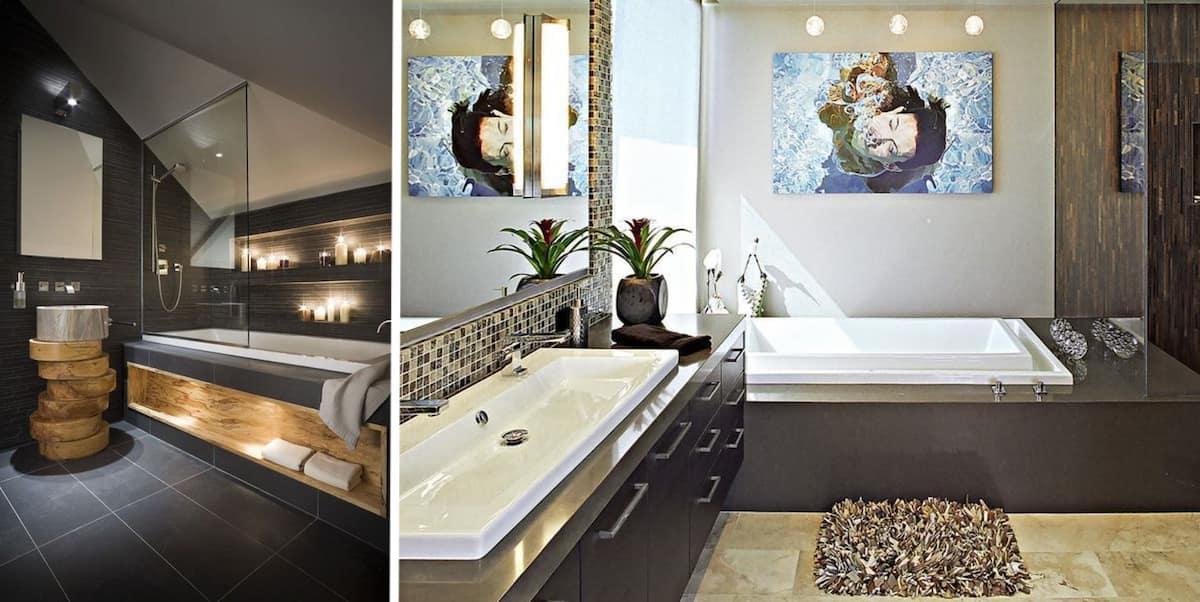 Освещение в ванной должно быть тщательно продумано еще на этапе разработки дизайна