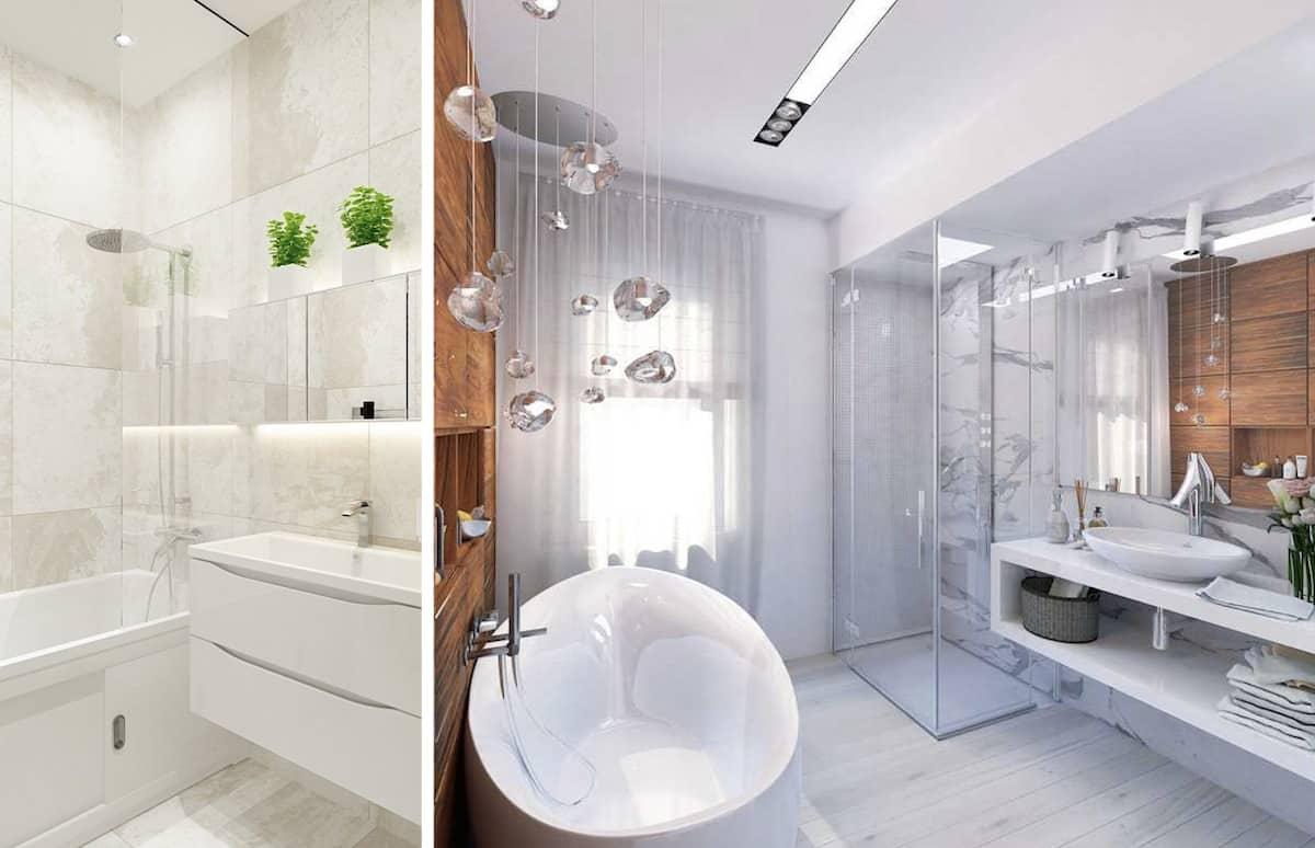 Декор - незаменимый атрибут при создании уютной атмосферы в ванной
