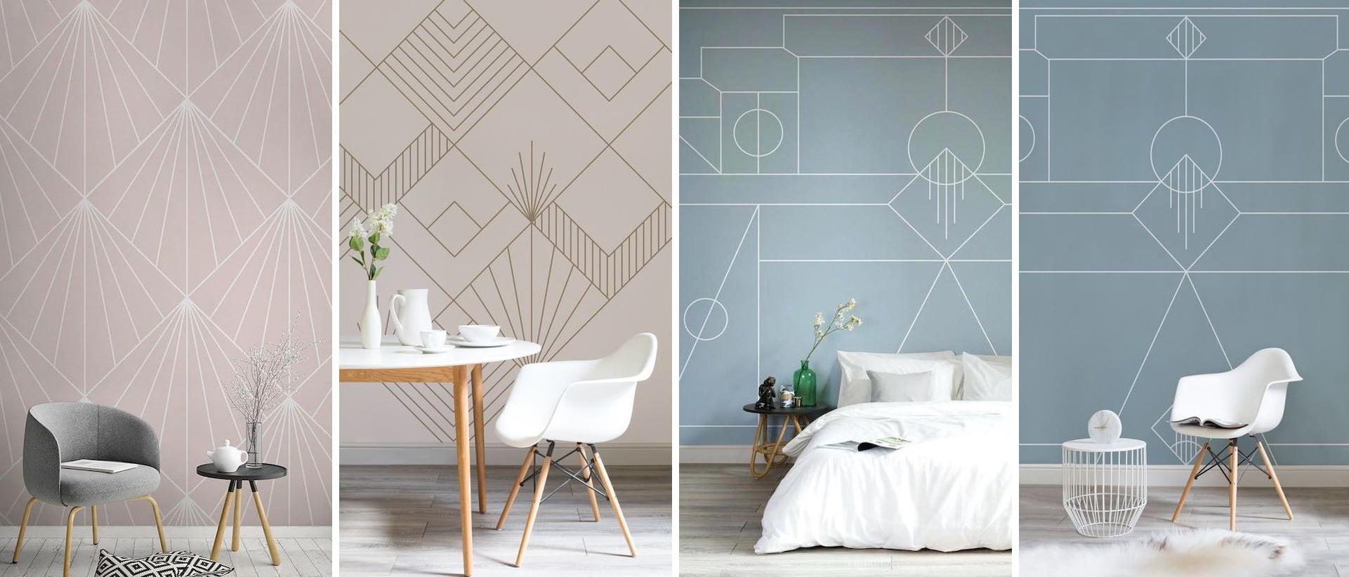 Удачное сочетание оттенок стен в комбинации с интерьером