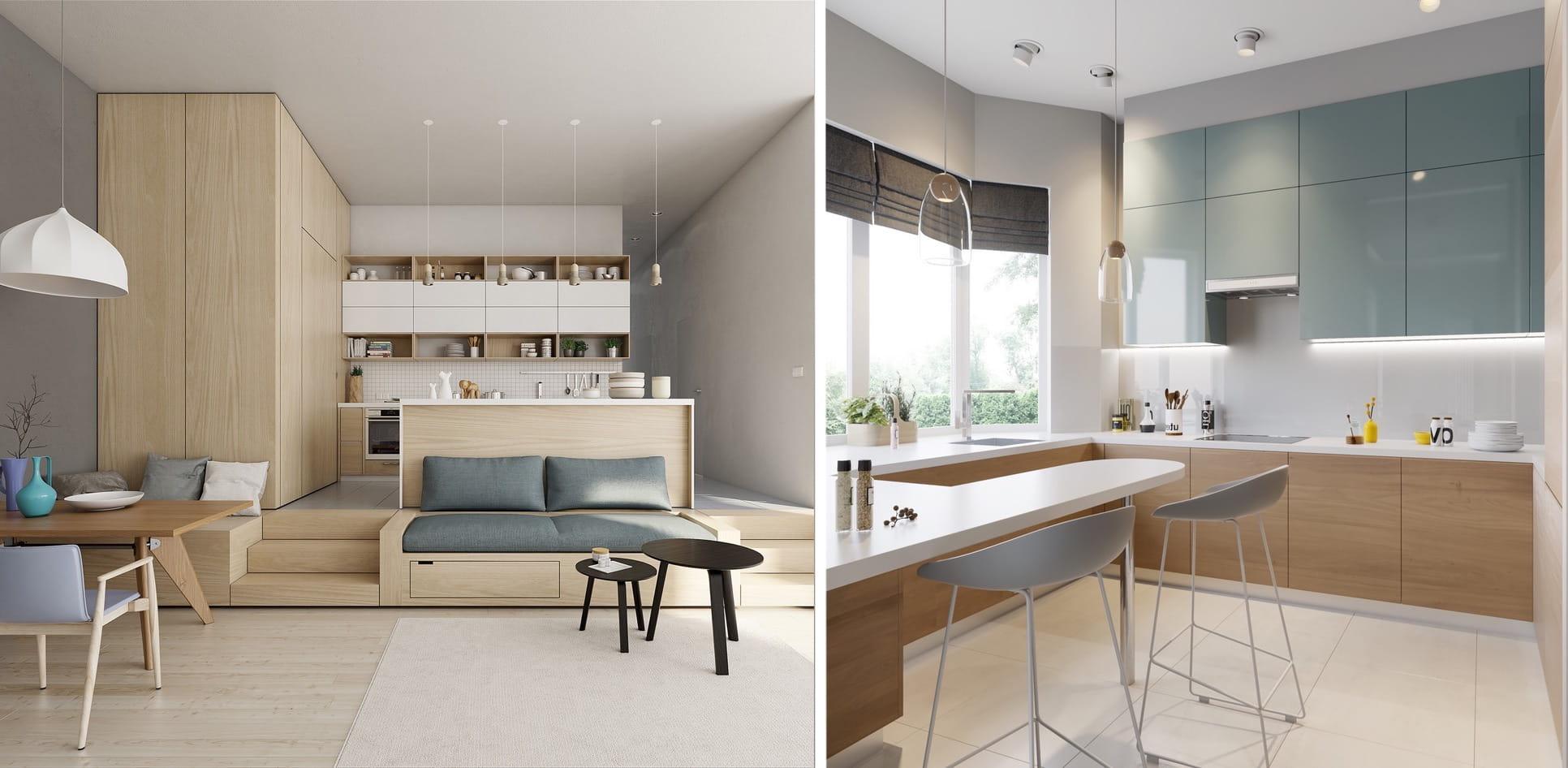 Поэтапная планировка маленькой кухни - важнейший этап дизайн-проекта