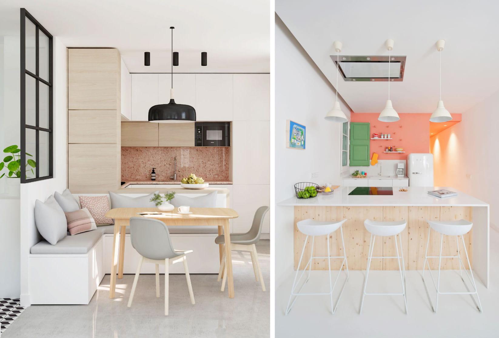Светлая кухня - это ощущение легкости и свободы