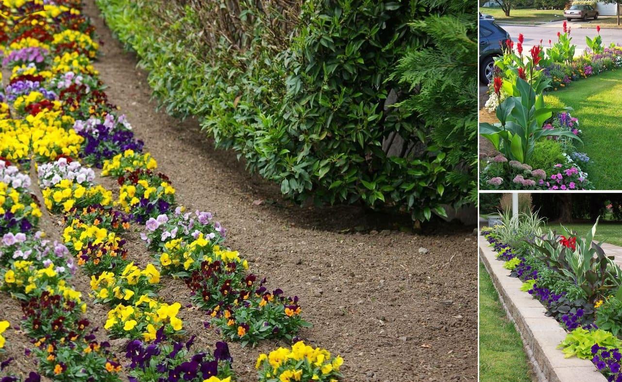 Красивые клумбы – традиционный элемент современного сада