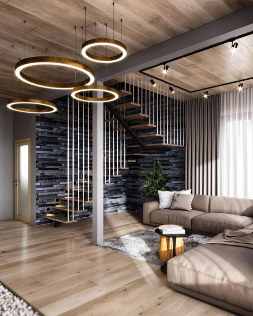 как оформить дизайн потолка
